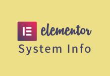 elementor 로고 및 글제목