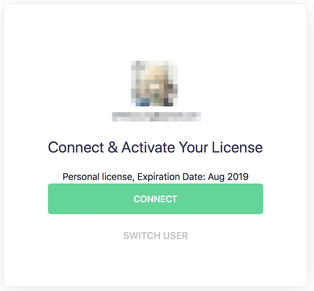 connect activate your license
