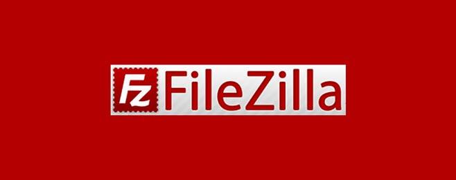 파일질라 SFTP 클라이언트 로고와 이름
