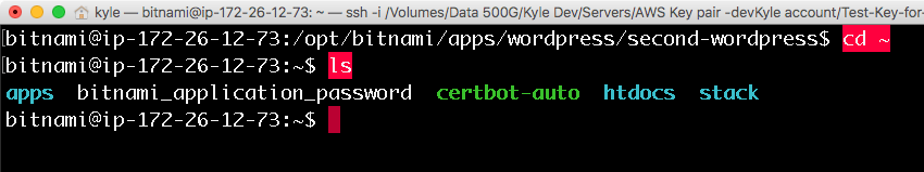 certbot-auto 프로그램은 사용자 홈폴더에 있습니다