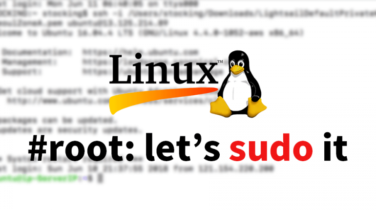 linux root: sudo it