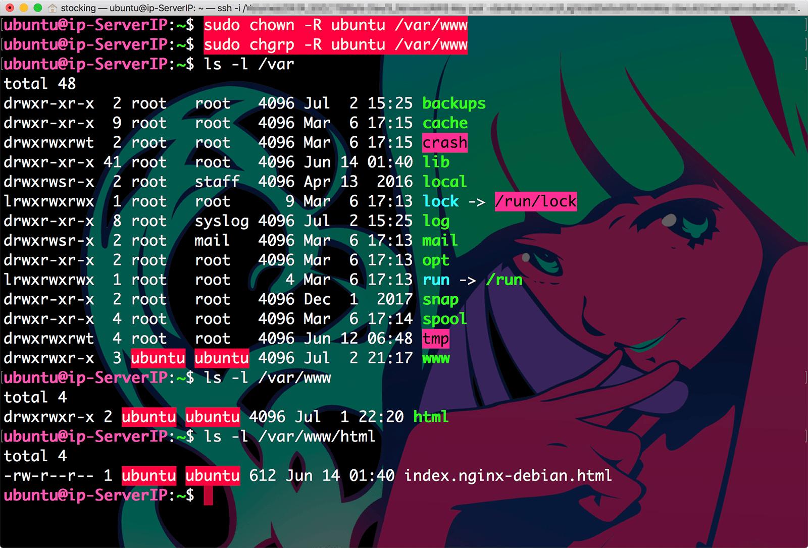리눅스 명령어 chown 과 chgrp