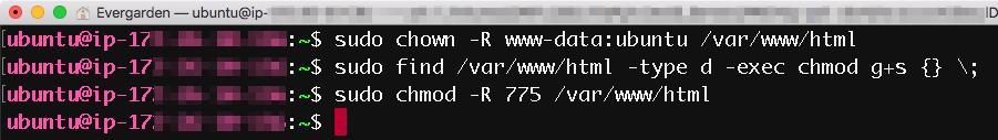 리눅스 명령어 3개 입력