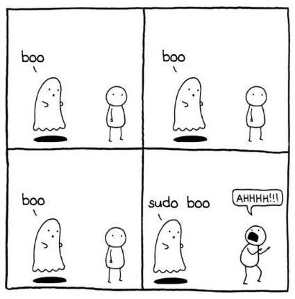 sudo boo 유머
